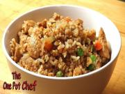 Super Fast Chicken Fried Rice