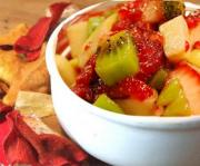 Tangy Fruit Salsa With Cinnamon Chip