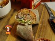 Spicy Korean Pork Kimchi Burrito