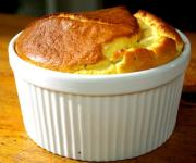 Mustard Flavored Cheese Souffle