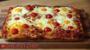 Easy Bacon And Egg Breakfast Focaccia 1018517 By Onepotchefshow