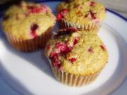 Cranberry Wheat Muffins