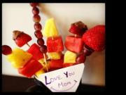 How To Make Fruit Bouquet In 10 Mins Edible Gift Idea Homemade Treats