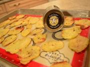 Citrus Herb Potato Medallions