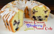Sour Cream Blueberry And Lemon Pound Cake Recipe 1016528 By Cookingwithcarolyn