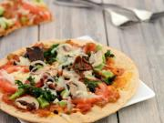 Tomato Mushroom And Spinach Pizza Delicious Diabetic Recipe By Tarla Dalal