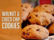Walnut And Choco Chip Cookies