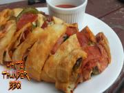 Grilled Stromboli Recipe How To Cook A Stromboli On A Weber Grill