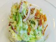 Bettys Overnight Lettuce Salad