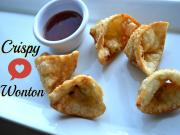 Cream Cheese Crispy Wonton