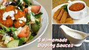 Homemade Buttermilk Ranch Dressing Bleu Cheese Dressing Quick Marinara Sauce Farm Rich Products 1018412 By Cookingwithcarolyn
