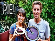 Easy Raw Blueberry Cherry Pie