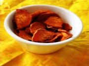Curried Sweet Potato Chips Recipe Healthy Summer Snack Ideas