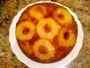 Microwaved Pineapple Upside Down Cake