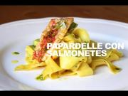 Papardelle Con Salmonetes Y Aguacate 1019894 By Dicestuqueno