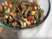 Crispy Bhindi Salad