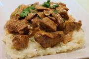 Beef Stroganoff One Pot Chef