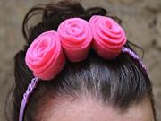 How to Make Flower Headbands