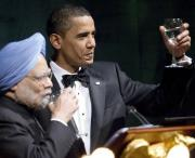 Eating Time For Obama In Delhi