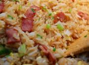 Bacon And Onion Fried Rice