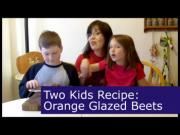 Orange Glazed Beets Recipe