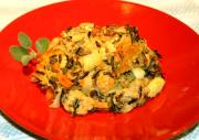 Apple Walnut Wild Rice