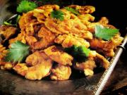 Spiced Deep Fried Prawns