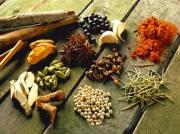 An array of Indian spices