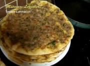 Turkish Tavada Lahmacun