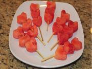 Watermelon Heart Kabobs