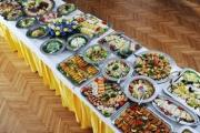 Table setting for buffet becomes really difficult when you have several varieties of food to serve.