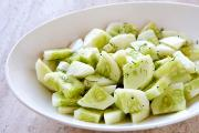 Bebo's Cool Cucumber Crunch Salad