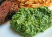 Almond Arugula Pesto