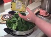 Stir Fried Baby Spinach