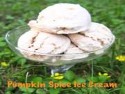 Super Easy Pumpkin Spice Ice Cream