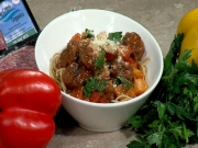 Organic or Free Range Bison Meatballs - Made with Love - CFJC TV Midday - Easy Real Whole Food Fast