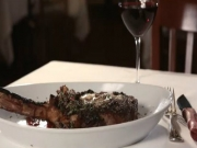A Perfect Pairing: Smith & Wollensky Spice Rubbed Long Bone Rib Eye and Jordan Cabernet Sauvignon