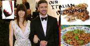 Justin Timberlake and Jessica Biel's Italian wedding feast.