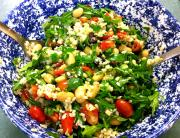 Brown Rice Garden Salad