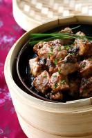 Chinese Steamed Spareribs with Black Bean Sauce
