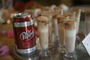 Dr pepper miniature float