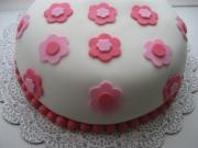 Fondant decorated cake