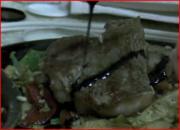 New York Strip Steak with Balsamic Glaze
