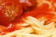 Tomato Spaghetti And Meatballs