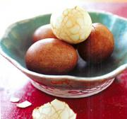 Eat chinese tea egg by learning how to make them