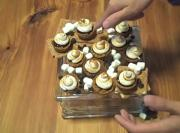 Chocolate and Marshmallow Tartlettes