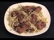 Thai Stir Fried Bean Sprouts with Pork Ribs