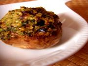 Broiled Stuffed Mushrooms