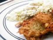 Shrimp and Potato Pancakes