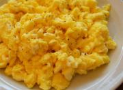 Microwaved Scrambled Eggs
